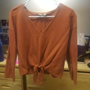 Madewell Long sleeve top size large